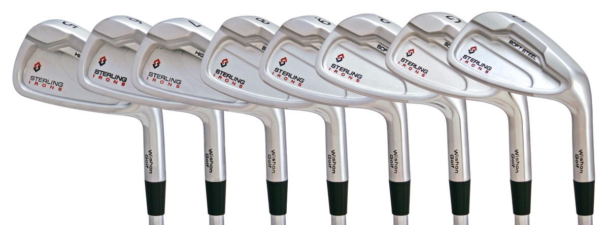 Sterling Irons® single length irons - the most consistent and accurate irons on the market