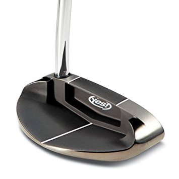 Jaacob Bowden plays a Yes! Putter Victoria-II C-Groove Mallet Putter